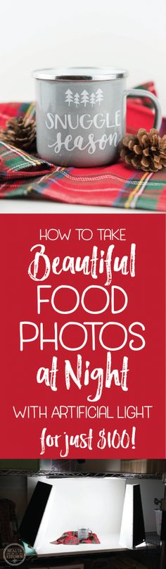 How to take Beautiful Food Photos at night with artificial light