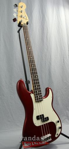 Fender Standard Precision Bass Guitar - more on www.guitaristica.org #bassguitar #guitars #guitaristica