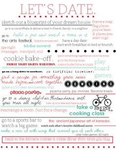 Fun date ideas for teens