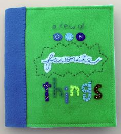 The Craft Patch: Felt Book of Favorites