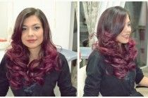 Purple Hair Color made by our team!