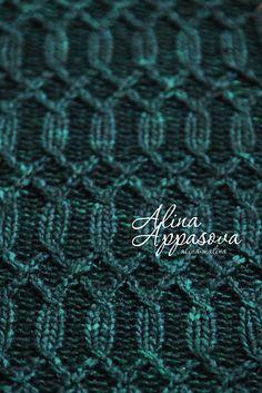 Ravelry: Malachite Scarf pattern by Alina Appasov free pattern - Malabrigo Yarn Merino Worsted
