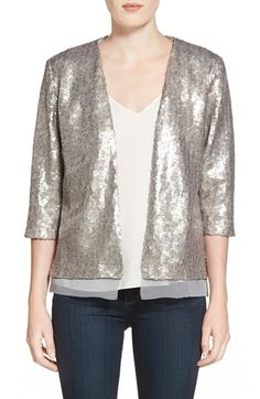 Chelsea28 Sequin Jacket available at #Nordstrom