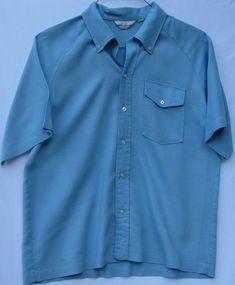 6adce464a5e Vintage Mr. Jack short sleeve button front 1960 s era shirt for men size  large