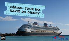 Pensa num lugar mágico e cheio de diversão! Este é o Navio da Disney ( Disney Cruise Fantasy). No vídeo, veja um tour no navio e algumas paradas, como: México, Jamaica, Caribe e Bahamas.