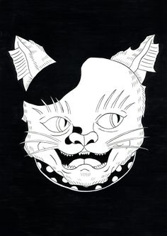 #art #illustration #japan #cat #猫 #イラスト #日本画 #阿吽 Cat Art, Illustration, Lion Sculpture, Statue, Cats, Gatos, Illustrations, Cat, Kitty