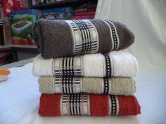 Juego de toallas 2 piezas Cuadros Cod 2150