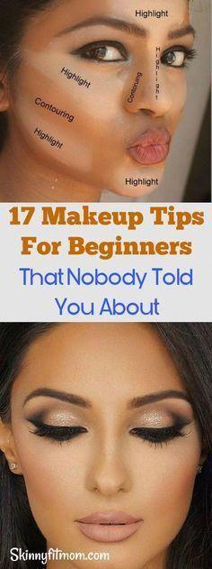 17 Make-up Tipps für Anfänger, von denen dir niemand erzählt hat – Folge diesen Tipps 17 dicas de maquiagem para iniciantes que ninguém lhe disse - siga estas dicas - Eye Makeup Tips, Makeup Tricks, Makeup Ideas, Eyeshadow Tips, Wedding Makeup Tips, Bridal Makeup, Skin Makeup, Eyeshadow Makeup, Makeup Tips Easy