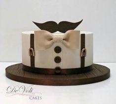 New Cake Art Fondant Ideas Ideas Fondant Cupcakes, Cupcake Cakes, Baking Cupcakes, Beautiful Cakes, Amazing Cakes, Moustache Cake, Movember Mustache, Doctor Who Cakes, Cake Design For Men