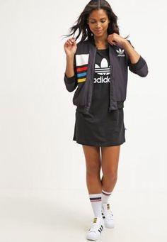 #Adidas originals giacca sportiva black Nero  ad Euro 68.00 in #Adidas originals #Donna abbigliamento giacche