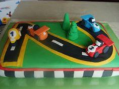 Tarta Circuito de coches