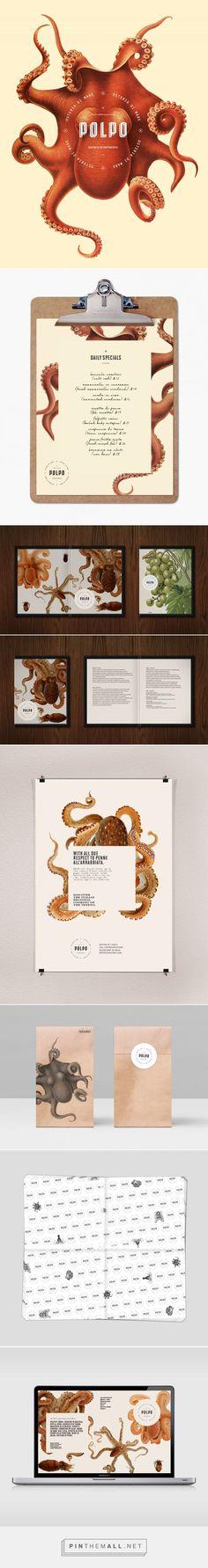 Polpo Restaurant Branding and Menu Design by Richard Marazzi | Fivestar Branding Agency – Design and Branding Agency & Inspiration Gallery