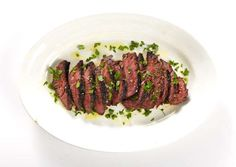St. Anselm's Garlic Steak: This recipe is from Brooklyn Italian eatery St. Anselm.