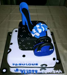 Shoe and Purse Cake