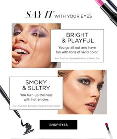 Express Yourself With Color! Shop Avon #makeup at http://www.youravon.com/tseagraves  #mascara #lipsticks