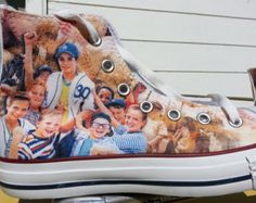 The Sandlot Custom Converse All Stars // I completely adore these! The Sandlot has been my favorite movie ever since i was little, so obviously these are a must have! Converse All Star, Converse Shoes, Converse Chuck Taylor, Adidas Shoes, Adidas Men, Cute Shoes, Me Too Shoes, Awesome Shoes, Awesome Stuff
