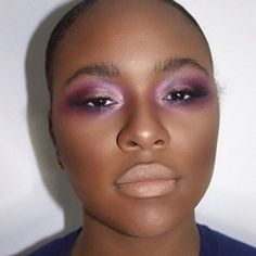 """""""MelaninMakeup Feature: Runway/Editorial Style look by @touchedbyoniedge  ________________________________________________________#makeup #makeupartist…"""""""