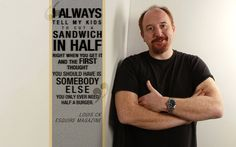 On sandwiches: | 14 Excellent Parenting Tips From Louis CK