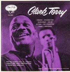 "Clark Terry - EmArcy MG 36007 [12"" LP] 1954 / Photo- Herman Leonard"