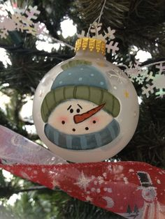 Painted Wood Christmas Ornaments Near Me