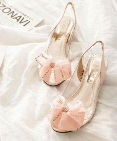 Image result for peach kitten heels | Pretty kitty heels ...
