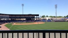 Home of the MiLB Mississippi Braves, Trustmark Park, in Pearl, MS