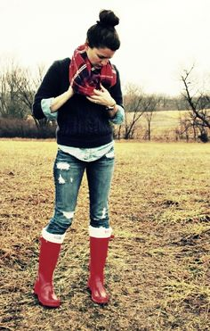 :) can't wait to wear my red boots!