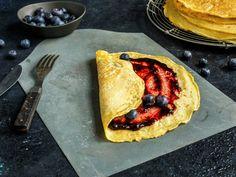 Pannekaker | Oppskrift - MatPrat Bacon, Ethnic Recipes, Food, Eten, Meals, Pork Belly