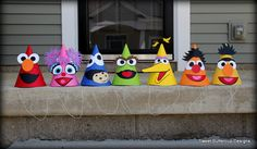 Hey, I found this really awesome Etsy listing at http://www.etsy.com/listing/150249715/sesame-street-friends-party-hats