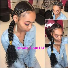 Beautiful Butterfly Braid Hairstyle Ponytails To Copy In 2019 26 + schöne Schmetterling Braid Fr Two Braid Hairstyles, Girl Hairstyles, Two Braids Hairstyle Black Women, Protective Hairstyles, Butterfly Braid, Curly Hair Styles, Natural Hair Styles, Braids For Short Hair, 2 Braids With Weave