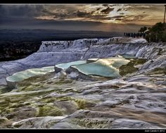 twilight in Pamukkale by Joan Canals, via 500px