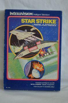 Intellivision Video Game Star Strike in Original by FloridaFinders, $10.00