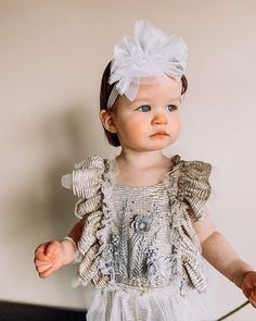 This sweet girl + this glorious piece. Gorgeous is an understatement ✨ • • Tap to shop the Glisten Romper. Perfect for photoshoots! 👆🏻 Girls Dresses, Flower Girl Dresses, Sweet Girls, Crochet Hats, Rompers, Photoshoot, Wedding Dresses, Shopping, Fashion