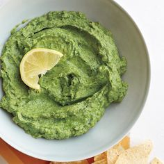 Can't decide between hummus and guacamole? Have it both ways in this bright, creamy dip.