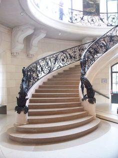 staircase, Petit Palais, Paris, France