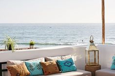 Wake up and have your breakfast with this amazing view #wow #worldofwaves #wakeup #surf #breakfast #taghazout #feelgood #sun #waves #healthy #morocco #terrace #magical