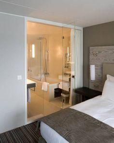 Rooms & Bathrooms Hotel Eurotel Bathroom Lighting, Bathrooms, Restaurants, Hotels, Furniture, Home Decor, Bathroom Light Fittings, Bathroom Vanity Lighting, Decoration Home