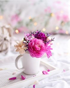 Good morning images with beautiful flowers Beautiful Bouquet Of Flowers, Beautiful Flowers Wallpapers, Flowers Nature, Beautiful Roses, Pretty Flowers, Wedding Flowers, Floral Flowers, Wild Flowers, Frühling Wallpaper