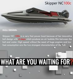 Rib boat - Skipper NC100c  HULL DESIGN: Skipper NC 100c is a very fast power boat because of her innovative hull design with 4 steps which produce an air bubble film between the hull and water. High speed without the need of huge engines and low fuel consumption are the two strongest characteristics of the hull.   contact: charismerkatis@gmail.com www.charismerkatis.com   https://www.facebook.com/CharisMerkatisRIBandPOWERboatsales/?ref=aymt_homepage_panel