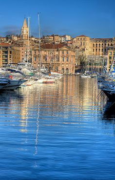 Marseille,The city hall ont the other side by BOSSoNe0013, via Flickr