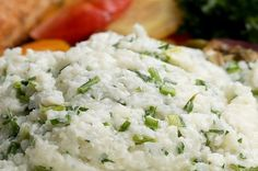 Garlic And Herb Mashed Cauliflower