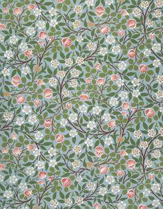 """artmastered: """" William Morris, Clover (wallpaper design), 19th century """""""