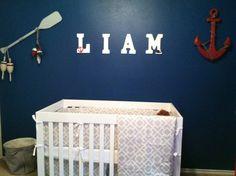 Baby Liam's Nautical Nursery