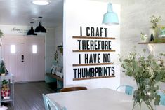 DIY Letterboard Ledge... make your own letter board for a fraction of retail! Customize to your own space, easy to make DIY! #diy #letterboard #homedecor