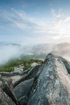 Peaks of otter / Blue Ridge Mountains, Virginia