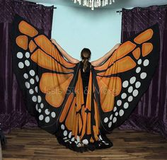 One of a Kind Silk Wings