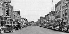 Downtown Idaho Falls 1930s.