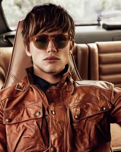 Paddy Mitchell Stars in Mens Style Fashion Editorial