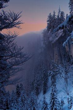 paisajes ✯ Fog On The Untersberg Winter Szenen, Winter Magic, Winter Time, Beautiful World, Beautiful Places, Beautiful Pictures, Beautiful Scenery, Snow Scenes, Winter Beauty