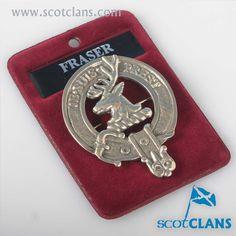 Fraser Clan Crest Ca